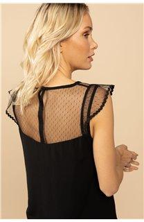 Blouse Blouse SUE Femme S21406W (61136) - DEELUXE