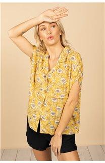 Blouse Blouse ETHEL Femme S21413W (61160) - DEELUXE