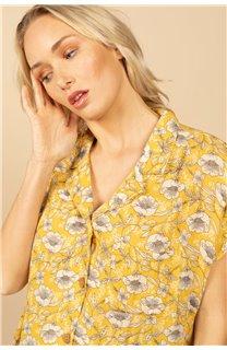 Blouse Blouse ETHEL Femme S21413W (61162) - DEELUXE