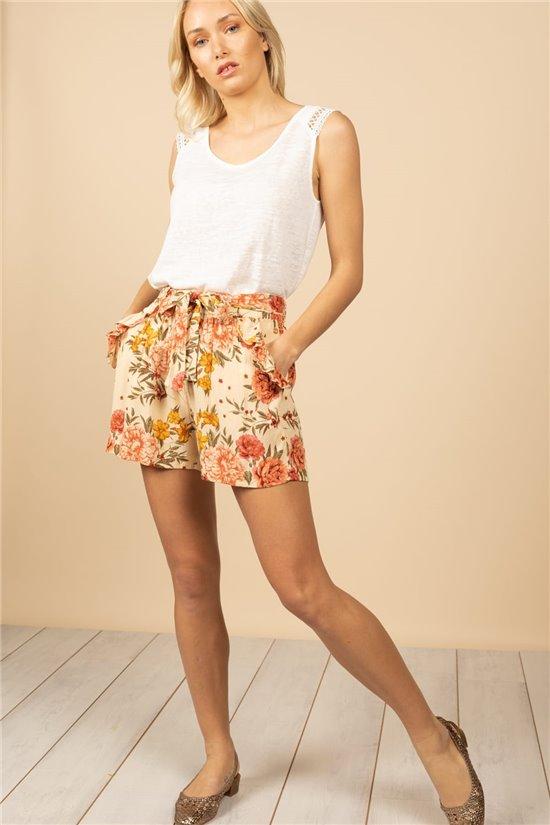 Short Short MARIETTE Femme S21703W (61188) - DEELUXE