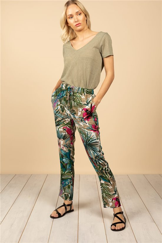 Pantalon Pantalon TAMARA Femme S21733W (61269) - DEELUXE