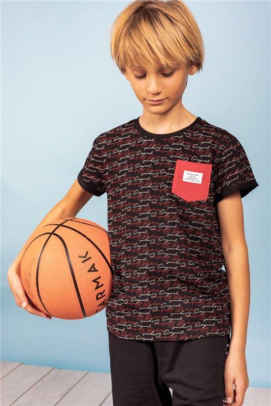 T-Shirt T-Shirt GARNER Garçon S21109B (61302) - DEELUXE