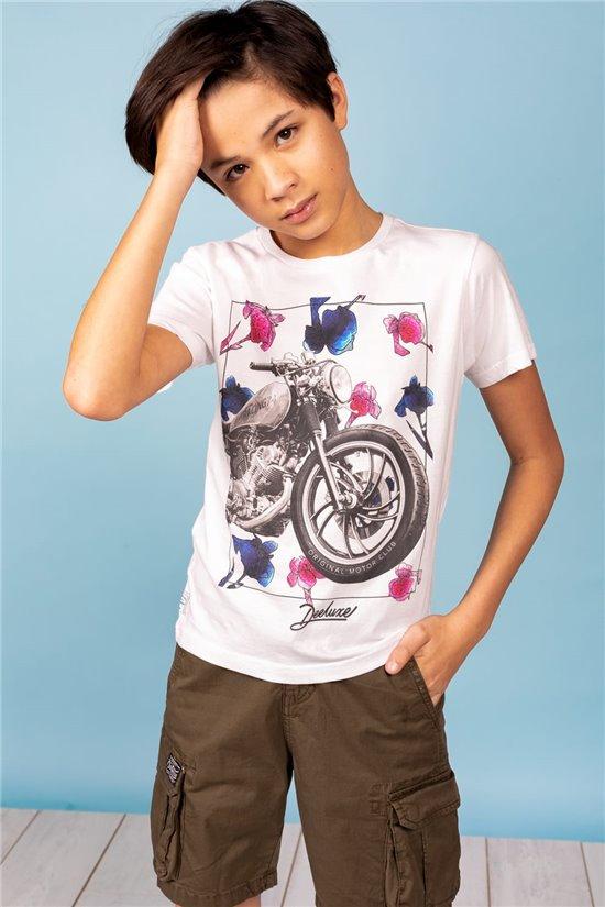 T-Shirt T-Shirt REFINED Garçon S21120B (61322) - DEELUXE