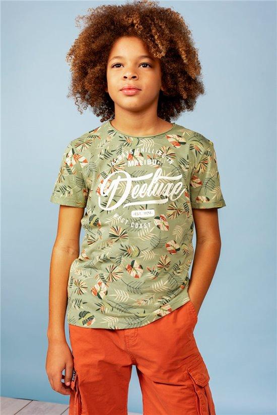 T-Shirt T-Shirt FRESHY Garçon S21156B (61369) - DEELUXE