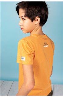 T-Shirt T-Shirt PARTY Garçon S21174B (61417) - DEELUXE