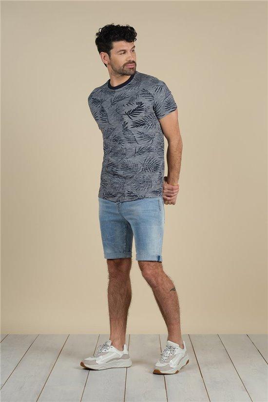 T-Shirt T-Shirt NIKI Homme S21115M (61536) - DEELUXE