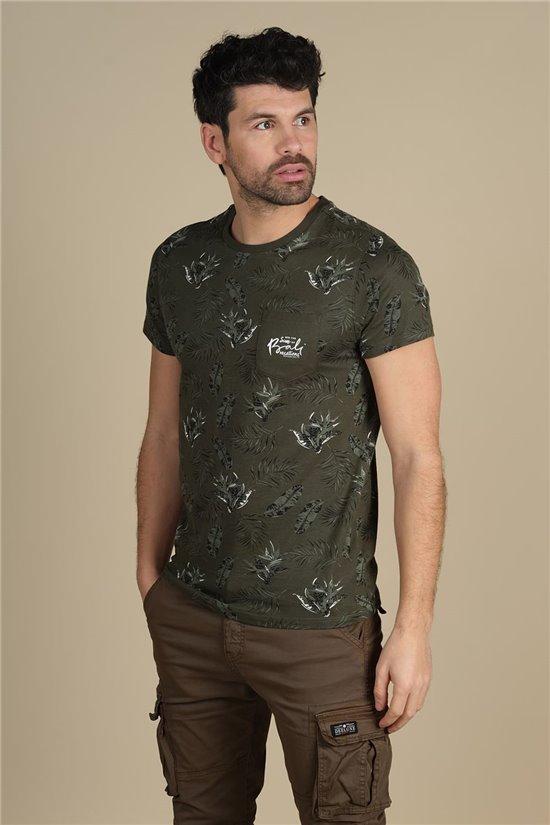 T-Shirt T-Shirt PARAISO Homme S21159M (61624) - DEELUXE