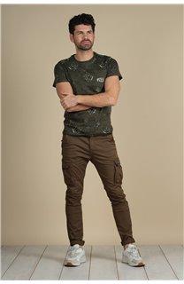 T-Shirt T-Shirt PARAISO Homme S21159M (61625) - DEELUXE