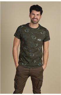 T-Shirt T-Shirt PARAISO Homme S21159M (61626) - DEELUXE