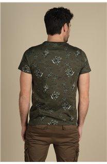 T-Shirt T-Shirt PARAISO Homme S21159M (61627) - DEELUXE