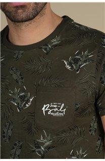 T-Shirt T-Shirt PARAISO Homme S21159M (61628) - DEELUXE