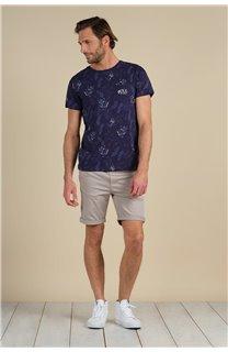 T-Shirt T-Shirt PARAISO Homme S21159M (61630) - DEELUXE