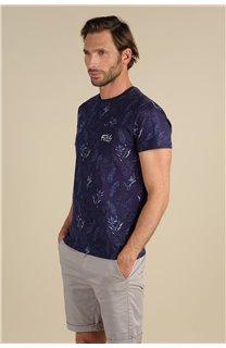 T-Shirt T-Shirt PARAISO Homme S21159M (61631) - DEELUXE