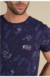 T-Shirt T-Shirt PARAISO Homme S21159M (61632) - DEELUXE