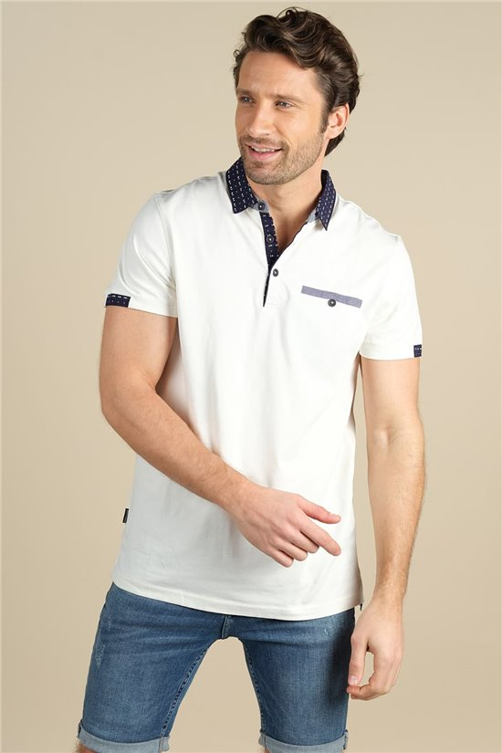 Polo Polo CONTRAST Homme S21206M (61679) - DEELUXE