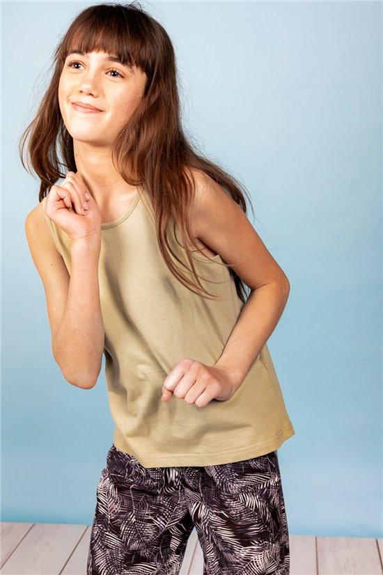 T-Shirt T-Shirt ANA Fille S21165G (61719) - DEELUXE