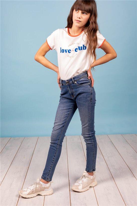 Jean Jeans CASSY Fille S21J803G (61761) - DEELUXE