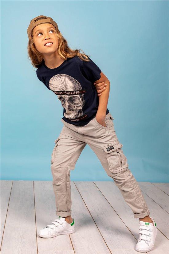 T-Shirt T-Shirt RUDYSON Garçon S21110B (61798) - DEELUXE