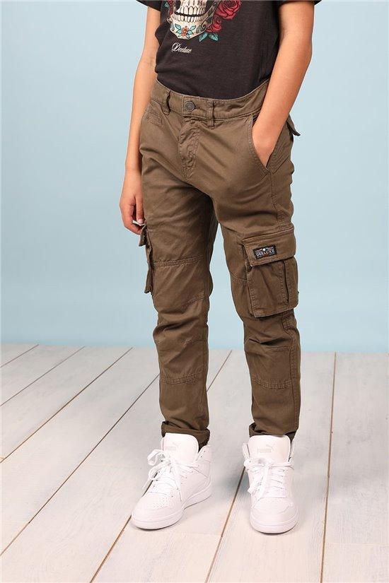 Pantalon Pantalon TANZA Garçon S217007B (62078) - DEELUXE