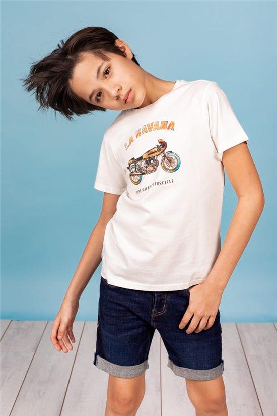 T-Shirt T-Shirt JENGO Garçon S21134B (62133) - DEELUXE