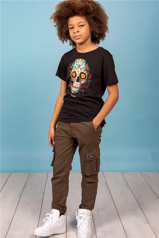 T-Shirt T-Shirt CALAVERA Garçon S21165B (62165) - DEELUXE