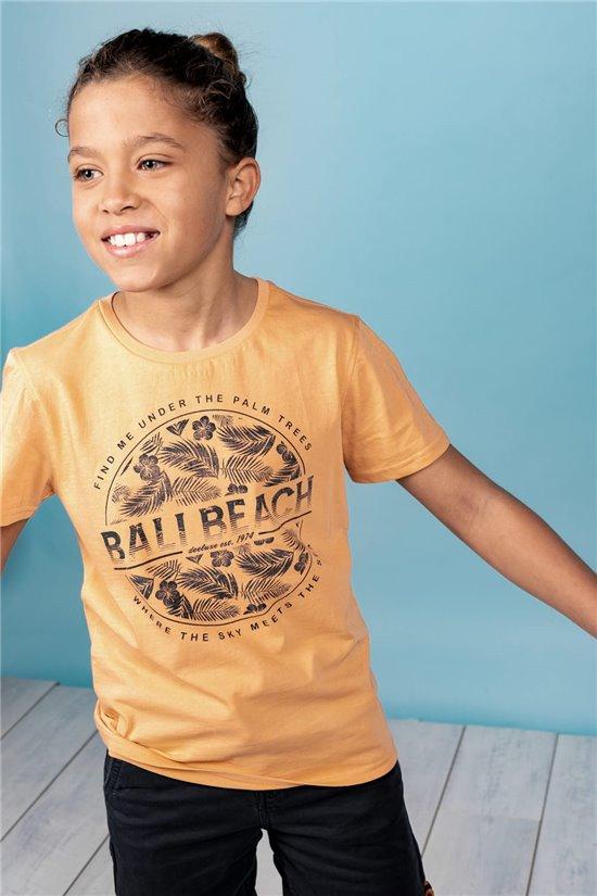 T-Shirt T-Shirt BEADY Garçon S21191B (62213) - DEELUXE