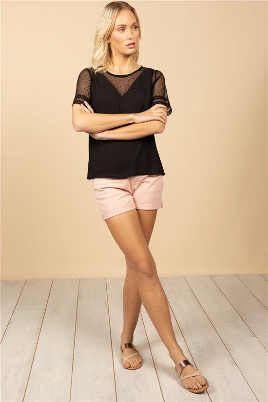 T-Shirt T-SHIRT VICKY Femme W20105W (62540) - DEELUXE