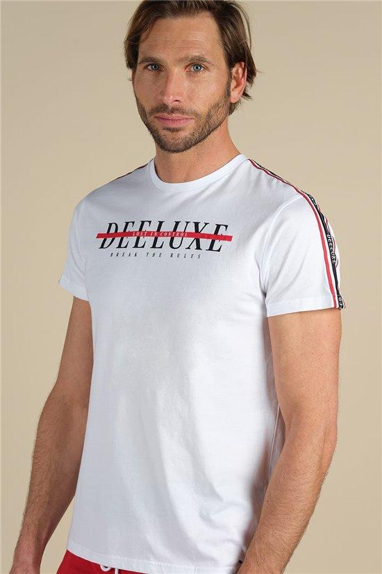 T-Shirt T-SHIRT RALF Homme S20126 (62680) - DEELUXE