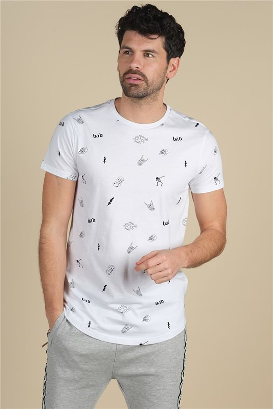 T-Shirt T-SHIRT NOTSORRY Homme W20131M (62831) - DEELUXE
