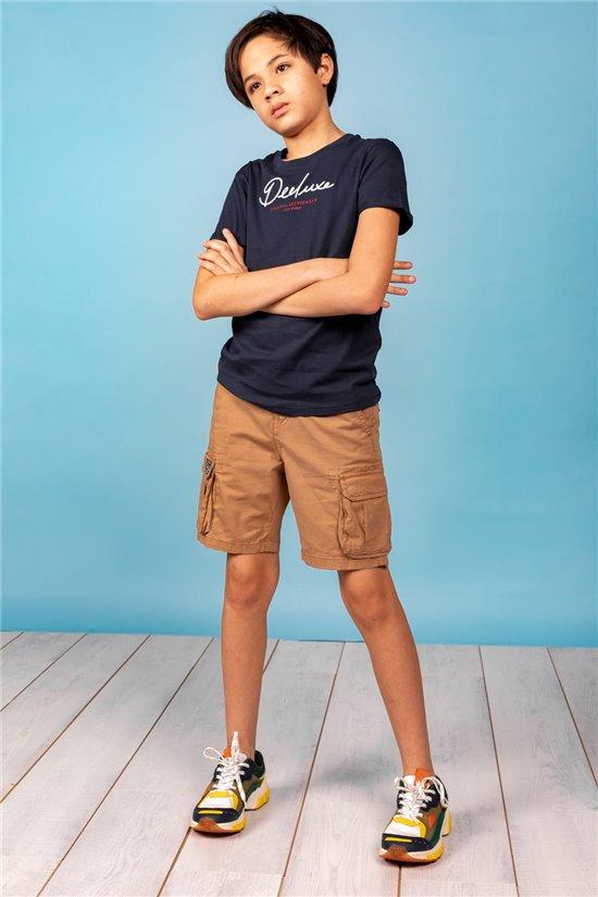 T-Shirt T-SHIRT NEAR Garçon W20123B (62881) - DEELUXE