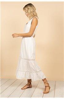 Robe Robe MAEL Femme S21230W (63151) - DEELUXE