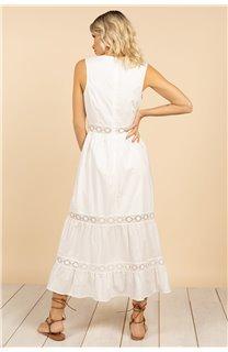 Robe Robe MAEL Femme S21230W (63152) - DEELUXE