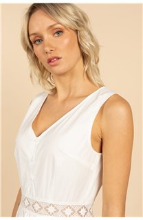 Robe Robe MAEL Femme S21230W (63153) - DEELUXE