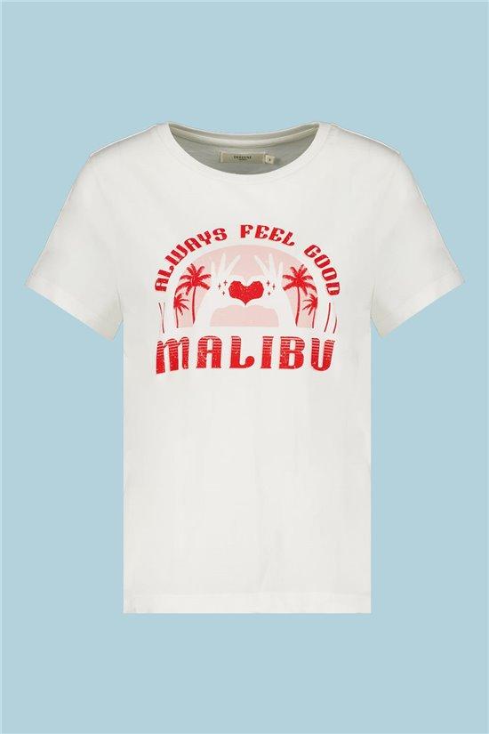 T-Shirt T-Shirt FEELGOOD Fille S21143G (60531) - DEELUXE