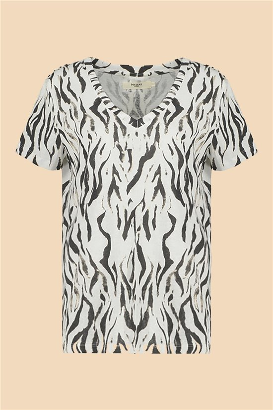 T-Shirt T-Shirt TIA Femme S21107W (60810) - DEELUXE