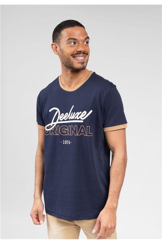 T-Shirt T-Shirt HYLTON Homme 01V194M (63814) - DEELUXE