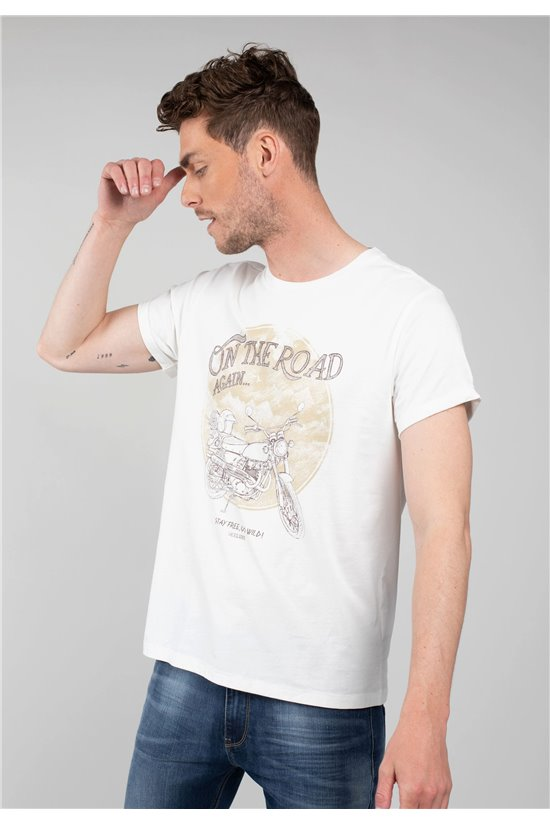 T-Shirt T-Shirt ROADY Homme 01V125M (63889) - DEELUXE