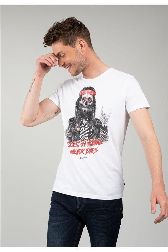 T-Shirt T-Shirt TELLONY Homme 01V152M (63921) - DEELUXE