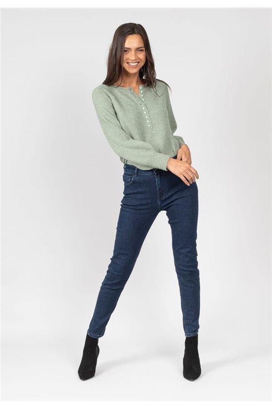 Jean Jeans LOUISE Femme 01VJ809W (64104) - DEELUXE