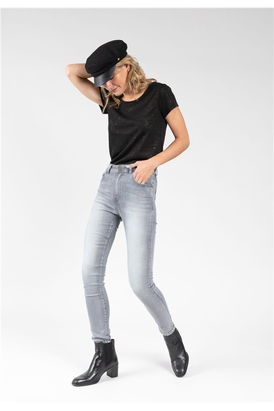 Jean Jeans LOUISE Femme 01VJ813W (64124) - DEELUXE
