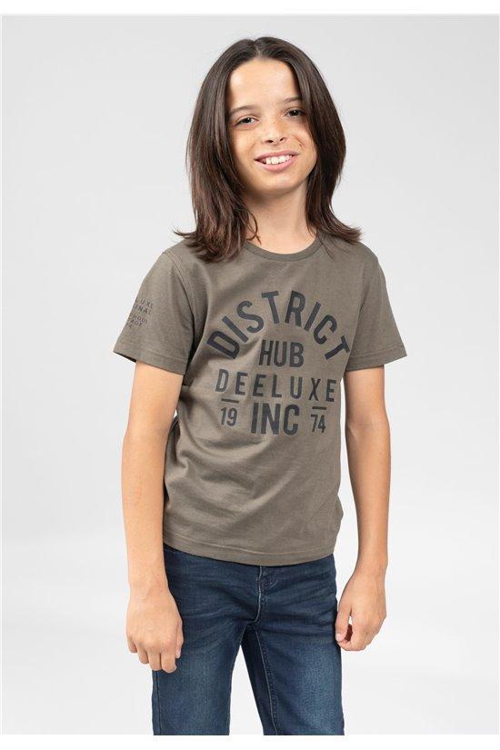 T-Shirt T-Shirt SPENCER Garçon 01V199B (64252) - DEELUXE