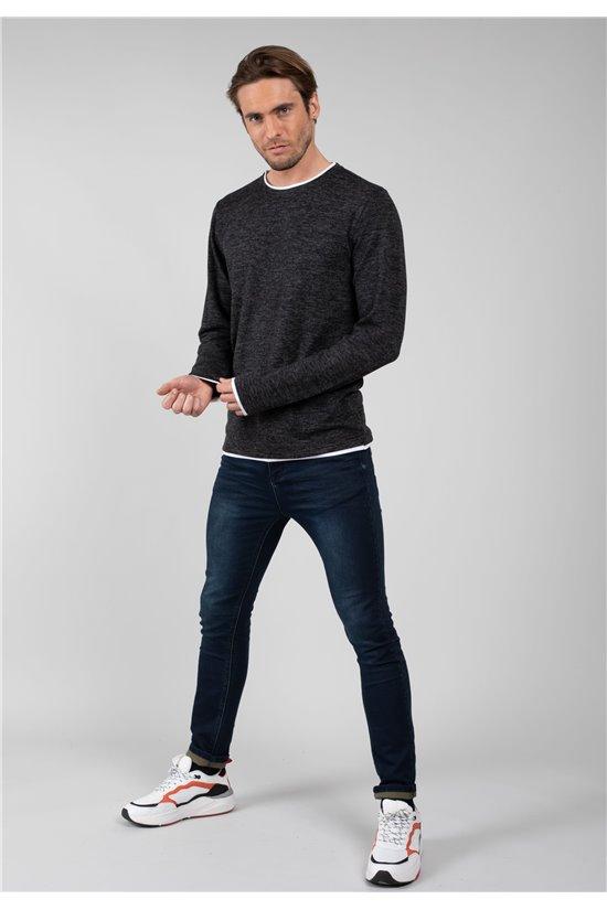 T-Shirt T-Shirt MONAN Homme 01V189M (64652) - DEELUXE