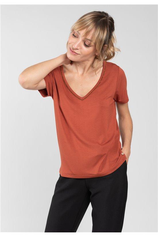 T-Shirt T-Shirt CASA Femme 01V113W (65241) - DEELUXE