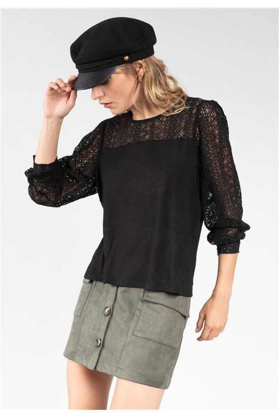 T-Shirt T-Shirt FRIDA Femme 01V114W (65253) - DEELUXE