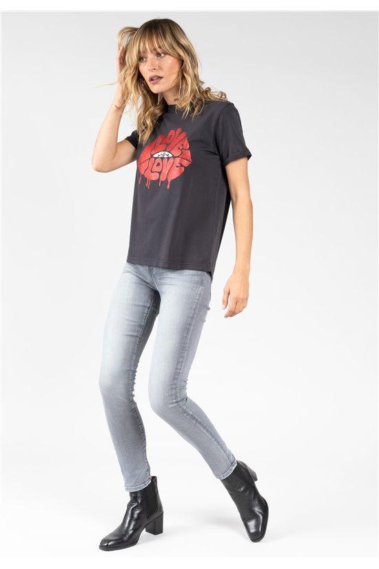 T-Shirt T-Shirt LOVELY Femme 01V142W (65315) - DEELUXE
