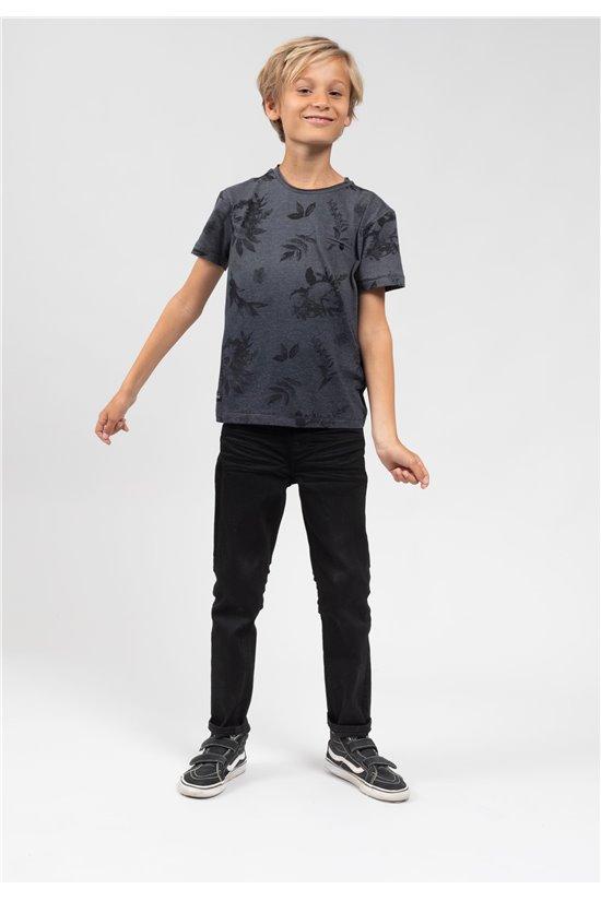 T-Shirt T-Shirt SKULLIER Garçon 01V121B (66121) - DEELUXE