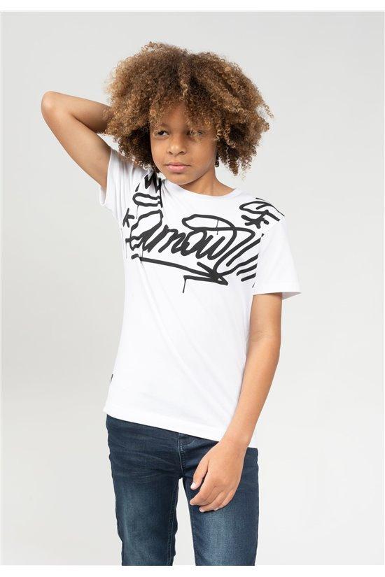 T-Shirt T-Shirt LIEBE Garçon 01V149B (66128) - DEELUXE