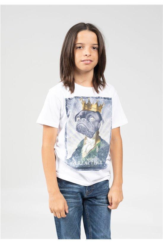 T-Shirt T-Shirt CHARLES Garçon 01V150B (66138) - DEELUXE