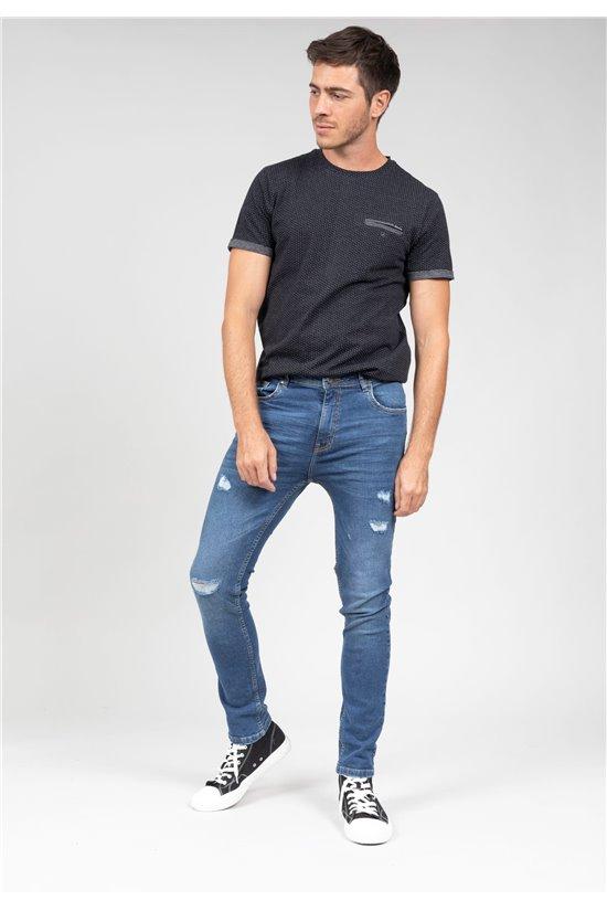 Jean Jeans SKENDER Homme JJ8079M (66375) - DEELUXE