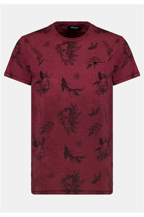 T-Shirt T-Shirt SKULLIER Homme 01V121M (64354) - DEELUXE